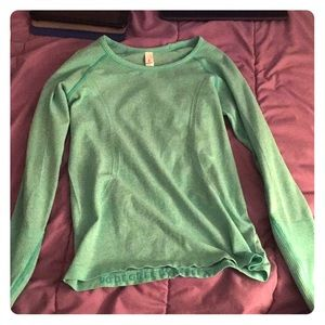 Other - Turquoise long sleeve shirt